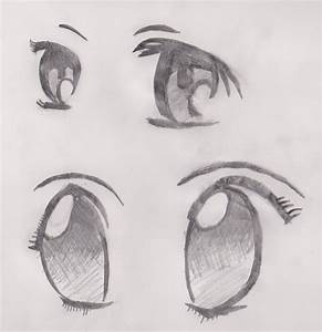Anime Eyes Pencil Drawings | www.imgkid.com - The Image ...
