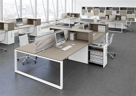bureau open space bureau open space loopy bralco equinoxe mobilier