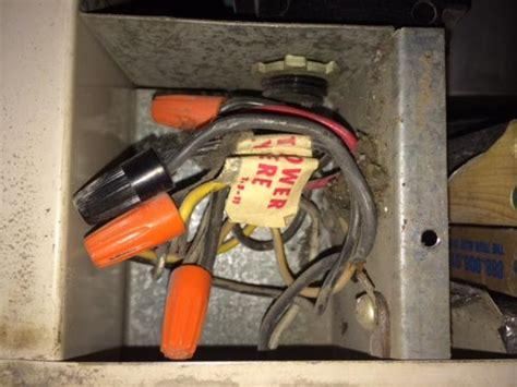 Furnace Fan Manual Override Switch Wiring Help