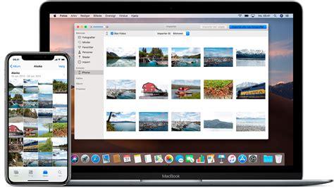 overforsel af billeder og videoer fra din iphone ipad