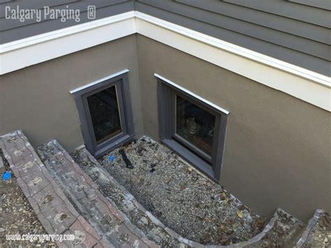 parging  acrylic stucco finish smooth  flexible