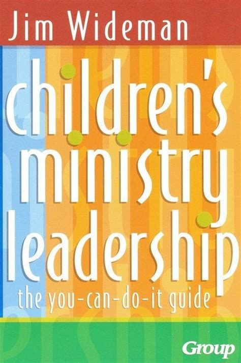 childrens ministry leadership ministry leadership