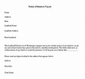 notice to vacate premises sample letter to vacate apartment to tenant nice apartement