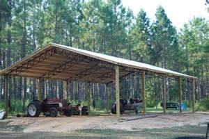 Pole Barn Steel Trusses