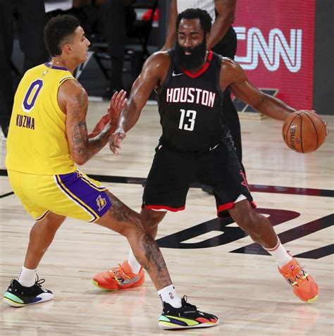 Harden's 39 help Rockets past short-handed Lakers 113-97 ...