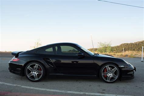 2007 911 Turbo 6mt Black/black