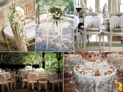 décoration chaise plastique mariage décoration des chaises pour votre mariage