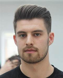 Hairstyles Men Oval Face Fade Haircut