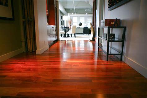 Brazilian Cherry Hardwood Floors Prosand Flooring