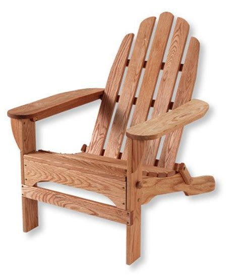 classic wooden adirondack chair at l l bean made in the