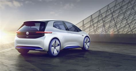 Volkswagen Id Is An Electric Car With Fully Automated