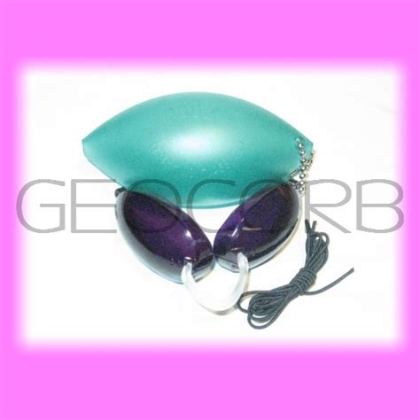 tanning bed eyewear soft podz 1 pair goggles green ebay