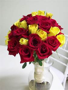 red and yellow wedding flowers   Carrie Anne Powell » Red ...