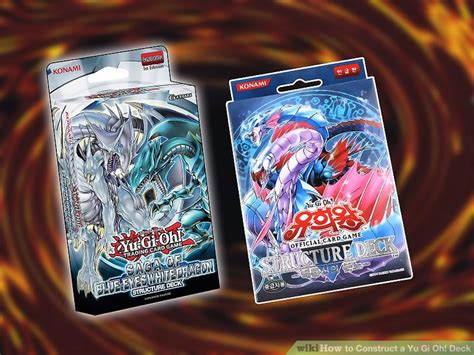 deck yu gi oh cards wikihow construct need