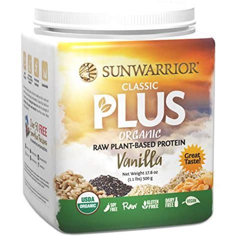 Sunwarrior Classic Plus Review Vanilla, Chocolate, Natural