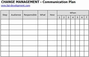 Communication plan change management plan communication plan for Change management communication template