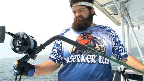 grouper rod fishing monster