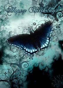 Butterfly, Birthday, Card