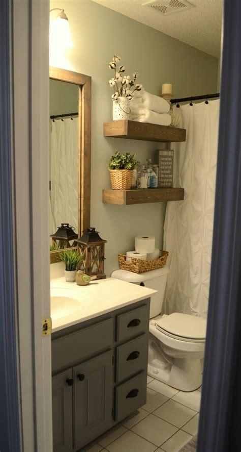 modern farmhouse inspired bathroom makeover  room