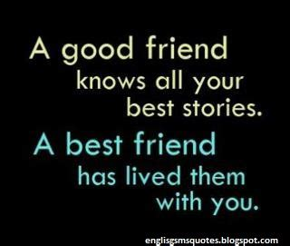 good friend friendship quotes english sms quotes