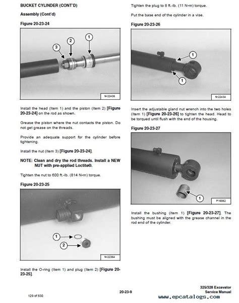 bobcat   excavator  series service manual