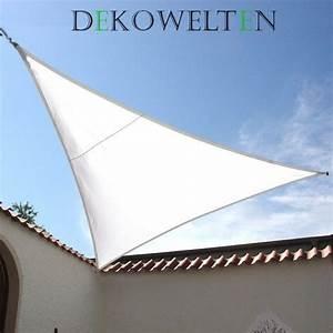 Sonnensegel Wasserdicht Dreieck : luxus sonnensegel der extraklasse sehr dichter stoff wasserabweisend dekowelten ~ Eleganceandgraceweddings.com Haus und Dekorationen