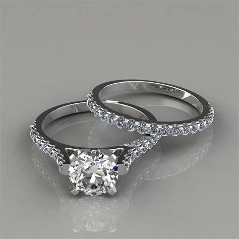 Engagement Ring And Wedding Band Bridal Set  Puregemsjewels. Moonstone Necklace. Ring Emerald. Intricate Engagement Rings. Horseshoe Pendant. Indian Gold Chains. Blue Pearl Pendant. Bridal Jewelry Bracelet. Monogram Stud Earrings