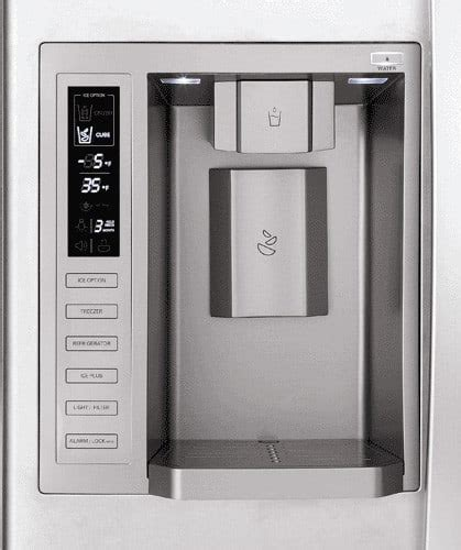 LG LSC27931SB 26.5 cu. ft. Side by Side Refrigerator with