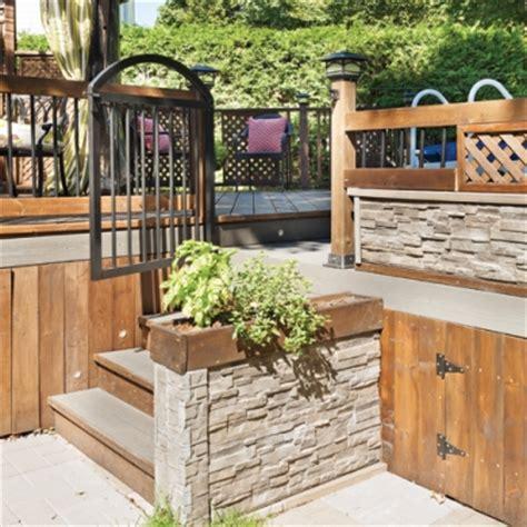 hauteur garde corps patio 30 styles de garde corps pour un look unique patio inspirations jardinage et ext 233 rieur