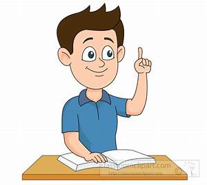 Student Sitting At Desk | Clipart Panda - Free Clipart Images