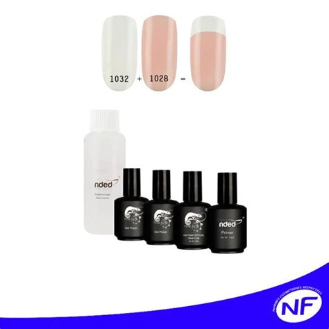 kit 3 vernis uv ou led semi permanent frenc achat vente vernis a ongles kit 3