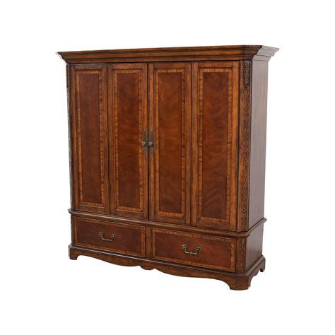 Buy Armoire - 90 custom carved wood armoire storage