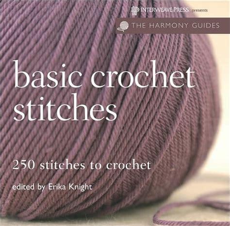 basic crochet stitches harmony guides basic crochet stitches