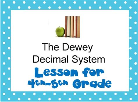 17 best images about dewey ideas on library
