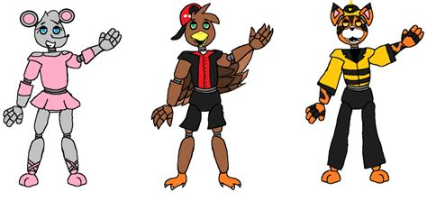 Fnaf 3 Characters (prediction Or Fanmade Idk Xd) By