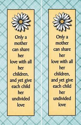 bookmarks  mothers  womenhood  idea door
