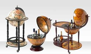 Bar Globe Terrestre : un bar globe terrestre groupon ~ Teatrodelosmanantiales.com Idées de Décoration