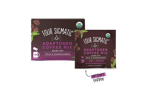 Find many great new & used options and get the best deals for four sigmatic adaptogen coffee with tulsi & aswagandha 10sach at the best online prices at ebay! Four Sigmatic Adaptogen Coffee, 10-Count | Maxwell's Attic