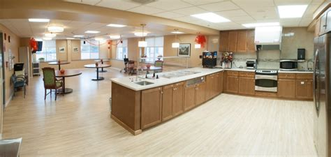 country kitchen wy snf memory care unit country kitchen and dining room 1 6141