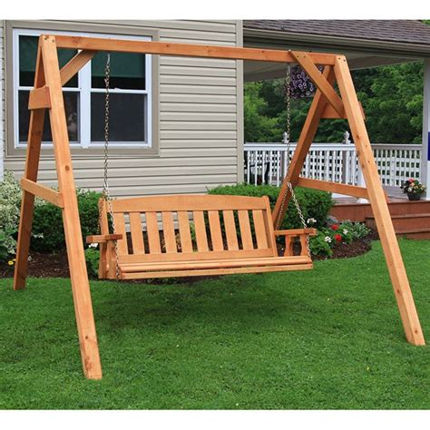 centerville amish heavy duty  lb mission swing