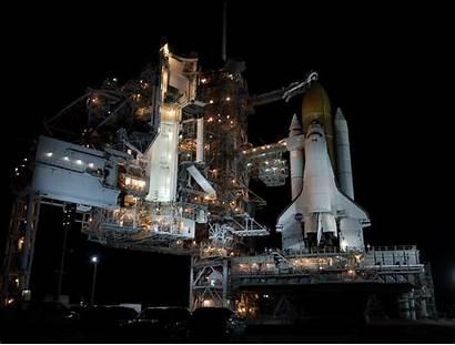 Shuttle Space Atlantis Nasa Night Orbiter Lanzamiento