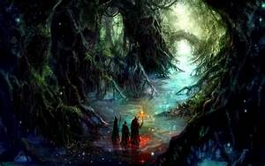forest fantasy art 1440x900 wallpaper – Abstract Fantasy ...