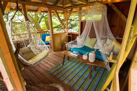 treehouse furniture ideas explore three incredible treehouses the treehouse guys diy
