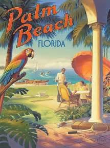 Vintage Palm Beach Florida