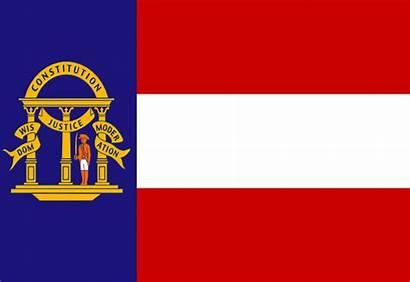 Georgia Flag State Clip Vector 1906 Coat