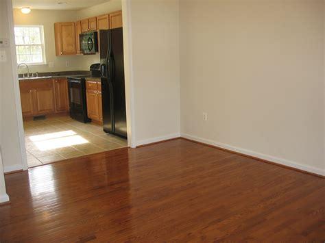 wood tile flooring in living room