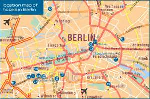 Berlin Germany City Map submited images