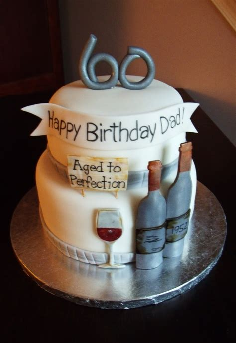 Turning 60 is such a great milestone to celebrate. Frog prince: 60th {wine} Birthday Cake~