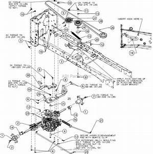 Troy Bilt Super Bronco 54 Fab  13aqa2ka011   2016  Parts Diagram For Drive