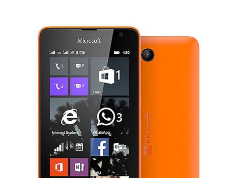 microsoft lumia 430 dual sim is the most affordable lumia yet technology news